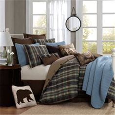 Woolrich Hadley Plaid Comforter Set,On sale price: $229.99-$329.99