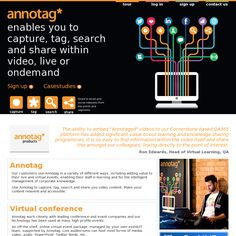 Annotag is a new web app which allows you to tag and annotate any video clip, whether just recorded, uploaded or grabbed from YouTube or Vimeo.  As a consequence you can easily jump to relevant parts of any tagged video while making it more accessible and informative.