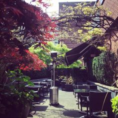 Best Often Missed Outdoor Patios in Vancouver Outdoor Patios, Outdoor Dining, Vancouver Island, Vacations, Things To Do, Beverages, Places To Visit, Wine, Explore