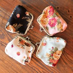 Floral Coin Purse – Southern Mess Boutique