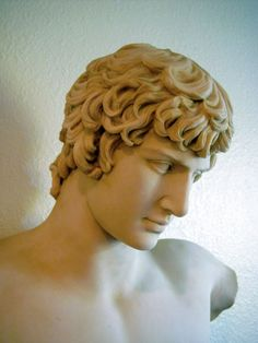 Antinous again. What a beaut. I don't blame Hadrian for deifying him at all.