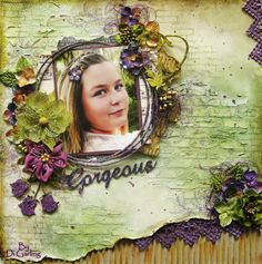 "My 2 Crafty Chipboard February DT RevealPart Two""Gorgeous"""