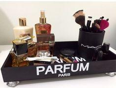 Bandeja Parfum Paris Crie & Decor - CRIEDECOR
