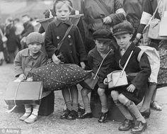 World War Two evacuation of children