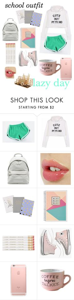 """""""lazy school day outfit"""" by joliannmontanez8980 ❤ liked on Polyvore featuring MITU, Madewell and Design Ideas"""