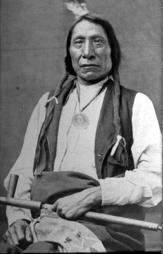 """I am poor and naked, but I am the chief of the nation. We do not want riches but we do want to train our children right. Riches would do us no good. We could not take them with us to the other world. We do not want riches. We want peace and love."" Chief Red Cloud"