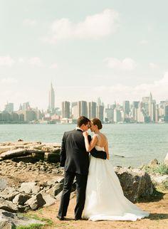 Brooklyn Wedding #skyline #city
