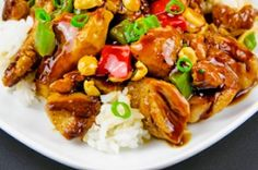 Authentic Asian Recipes: Kung Pao Chicken Recipe Spicy curries, crispy Peking duck or aromatic noodle soup: Asian food is popular. In addition to C. Easy Asian Recipes, Spicy Recipes, Easy Chicken Recipes, Pork Recipes, Indian Food Recipes, Appetizer Recipes, Cooking Recipes, Curry, Healthy Meals To Cook