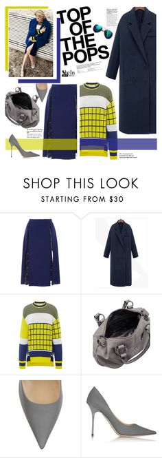 """""""Pop of color"""" by naki14 ❤ liked on Polyvore featuring moda, Prabal Gurung, Jimmy Choo, Sheinside e shein"""