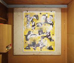 Andy Schansberg #screenprint #print #modern #yellow