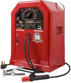 Lincoln Electric 230V 225 Amp AC Arc Welder Stick Welding Machine Weld AC225S #Lincoln