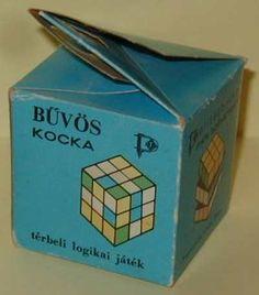 Bűvös kocka doboz | retronom.hu