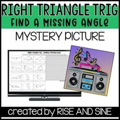 Students will demonstrate their knowledge on right triangle trig with this digital activity! Students will use inverse trig functions to find a missing angle measure. It's self-checking! If the answer is correct, part of the image will reveal. If the cell turns red, students should check their work and try again!