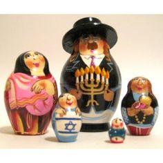 "Russian ""Nesting Dolls"" Jewish family"
