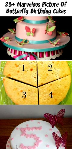 25+ Marvelous Picture Of Butterfly Birthday Cakes - Cakes  25+ Marvelous Picture...  25+ Marvelous Picture Of Butterfly Birthday Cakes – Cakes  25+ Marvelous Picture of Butterfly Bir #Birthday #butterfly #Cakes #Marvelous #Picture