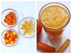 Suc de Kaki, Morcov și Mandarină Baby Food Recipes, Smoothies, Pudding, Desserts, Alternative Medicine, Syrup, Alcohol, Salads, Recipes For Baby Food