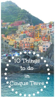 Along the coast of the Italian Rivera just before the French border lie 5 small towns known as the Cinque Terre. These five quaint towns tucked in between luscious hills are called Riomaggiore, Man…
