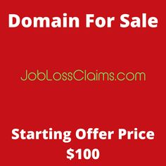 JobLossClaims.com domain name for sale! Visit it now to purchase it!  #jobloss #claims #loss #job #domainforsale #domainname #domains #domainsale #domainnameforsale #website Web Domain, Laptops For Sale, Names, Website, Cannabis, Cut, Flipping, Locker, Friendship
