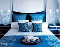 Bedroom:Blue Bedroom Design Ideas: Perfect Interior Combination! Simple Blue Bedroom Decorating Ideas #5