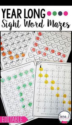 Love this list of sight word activities for teaching and practicing sight words. A good mix of printables and hands on activities. This is awesome for kindergarten, first grade and second grade. Teaching Sight Words, Sight Word Practice, Sight Word Games, Sight Word Activities, Literacy Skills, Kindergarten Activities, Art Activities, Classroom Activities, Reading Activities