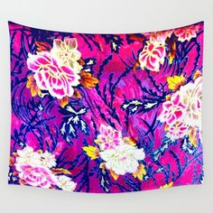 Forest Wild Roses Wall Tapestry by azima Wall Tapestries, Tapestry, Rose Wall, Cool Things To Buy, Stuff To Buy, Beach Towel, Laptop Sleeves, Laptop Shop, Throw Pillows