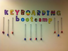 Several years ago I found a great idea on Beth Newingham's website for a keyboarding camp. She has explained her ideas in this article: Tak...