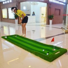 89a602e2 19 Best Indoor Putting Greens images in 2017 | Indoor putting green ...