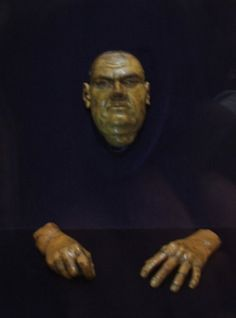Martin Luther's Death Mask and Hands