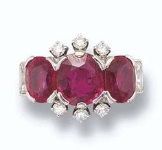 Ruby Ring of Princess Margaret of England