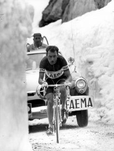 Charly Gaul. Giro d'Italia 1955