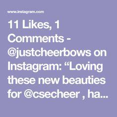 Cheer Bows, Spirit, Love, Beauty, Instagram, Amor, Cheerleading Bows, Beauty Illustration