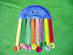 Easy Paper Plate Ocean Animals Octopus Counting Craft and Counting Song for Kids! Ocean Activities, Preschool Activities, Group Activities, Toddler Crafts, Crafts For Kids, Summer Crafts, Toddler Stuff, Octopus Crafts, Under The Sea Theme