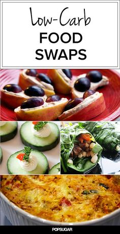 Swap Produce For Carbs and Save Calories (I might add celery in place of tortilla chips with salsa to this list.)