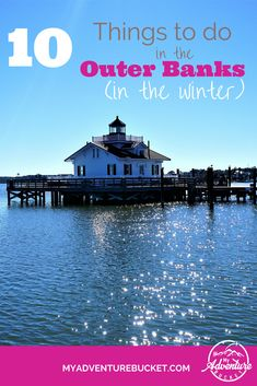 North Carolina's hidden gem of a seacoast isn't just for summer visitors. Here are 10 things to do in the winter. Fort Bragg North Carolina, Outer Banks North Carolina, Outer Banks Nc, Best Winter Vacations, Ocracoke Island, Travel Usa, Canada Travel, Travel Tips, Need A Vacation