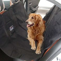 Pet Seat Cover Oxford Dog Pets Car Seat Cover Travel Hammock Seat Protection Blanket Waterproof Washable Dogs Outdoor Supplies