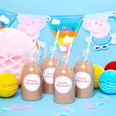 How to Throw the Ultimate Peppa Pig Party Third Birthday, 3rd Birthday Parties, Birthday Party Decorations, Pig Birthday Cakes, Peppa Pig Birthday Ideas, Peppa Pig Party Ideas, Peppa Pig Party Supplies, First Birthdays, Party Party