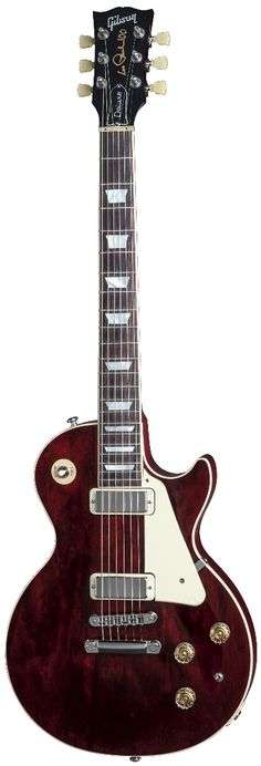 Gibson Les Paul Deluxe Wine Red (2015) Main Product Image