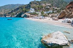 Karpathos, Greece- why must so many beautiful beaches be conviniently located across two major bodies of water from me?