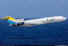 Líneas Aéreas Suramericanas - LAS Cargo Boeing 727-2S2F/Adv(RE) Super 27 HK-4637 departing Willemstad-Curaçao, February 2015. (Photo: Larry Every)