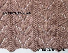 Incredibly beautiful pattern with knitting needles - Make it . Lace Knitting Stitches, Easy Knitting Patterns, Knitting Charts, Knitting Designs, Knitting Needles, Baby Knitting, Crochet Waistcoat, Crochet Baby Cardigan, Crochet Yarn