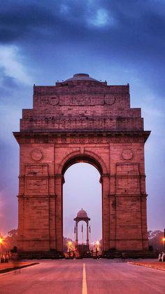 India Gate, New Delhi, India — by Nitesh HansRaj Indian Flag Wallpaper, Of Wallpaper, Shiva Wallpaper, India Architecture, Ancient Architecture, Gothic Architecture, Iphone Wallpaper Architecture, India Gate, Amazing India
