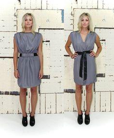 Silver Reversible Dress | Women's Fashion | Dresses, Tops and more | Et La Mer
