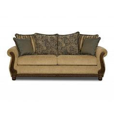 Made to Order Simmons Upholstery Outback Sofa - Overstock™ Shopping - Great Deals on Simmons Sofas & Loveseats
