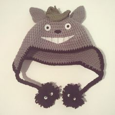 Crochet Totoro Hat  •  Make a novelty hat in under 150 minutes