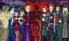 Villains of Winx Club Winx Club, Female Superheroes And Villains, Les Winx, Walt Disney, Bloom, Mundo Comic, Kids Shows, My Character, Narnia