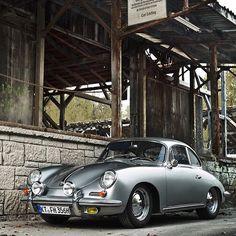 Vintage curves - Porsche 356 - Type B.