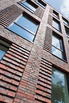 Klinker in Münster von der Janinhoff Klinkermanufaktur- nice brick detail