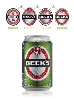 Beck's new package