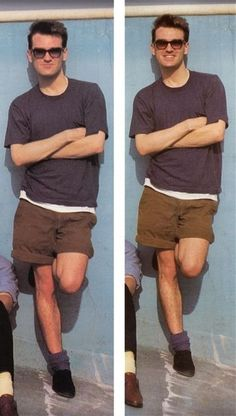 Morrissey...in shorts...a rare find! :)