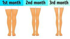 Kάνε αυτό κάθε μέρα, τρία λεπτά πριν πέσεις για ύπνο, για να αποκτήσεις τα πόδια του καλοκαιριού